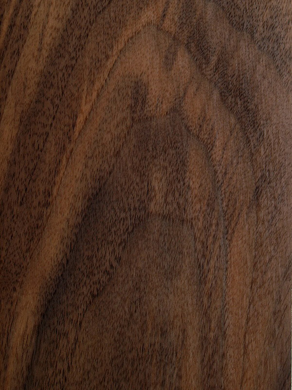 American Black Walnut Planed Timber Grain Close Up