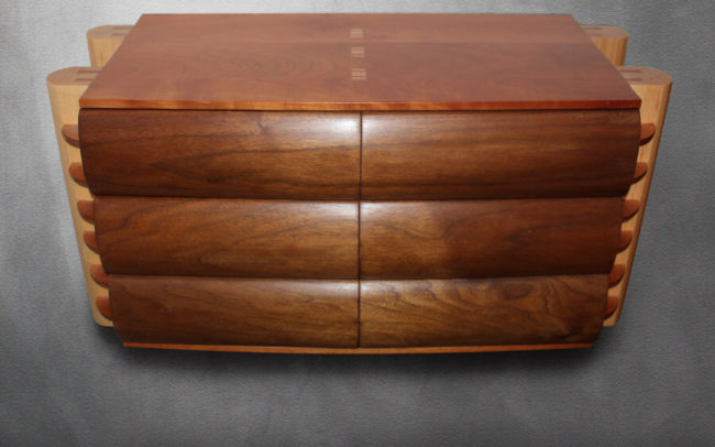 Six Draw Bedside Cabinet Chest Bespoke by Howard Butler Worcestershire