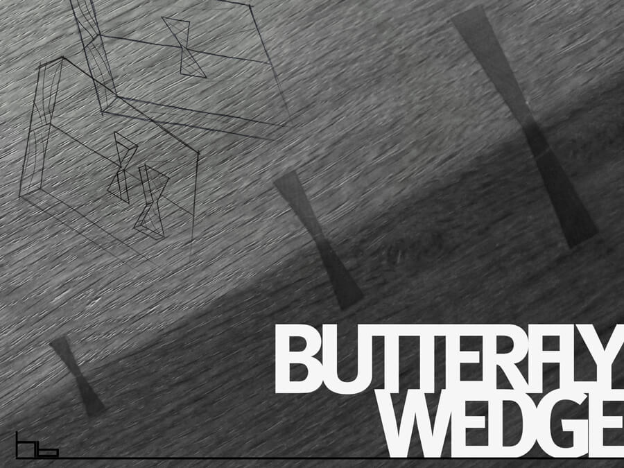 Butterfly Wedge Joint by Howard Butler