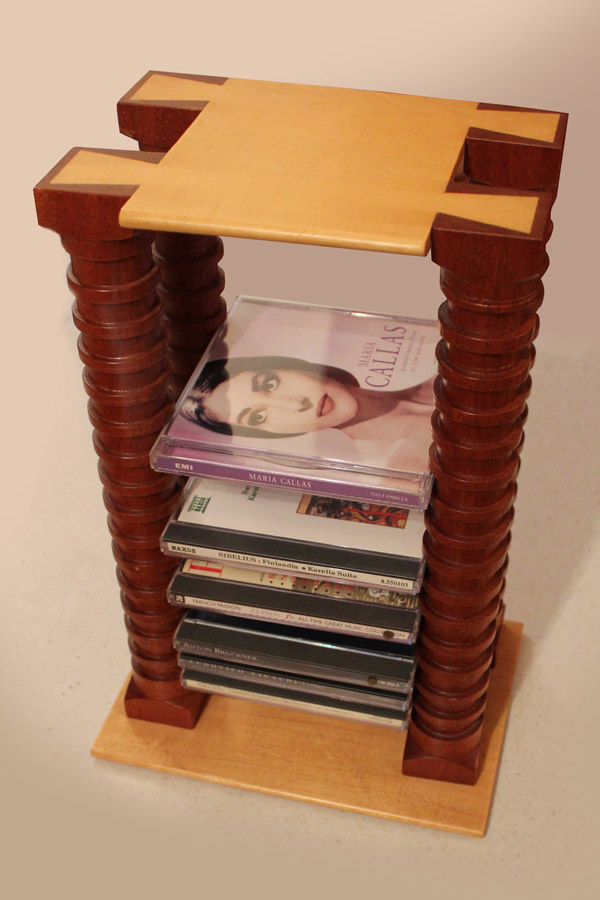 Howard Butler custom Cd Tower