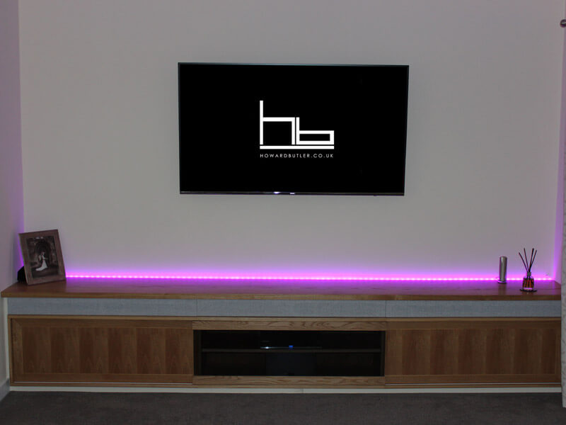 Fitted Media Unit by Howard Butler