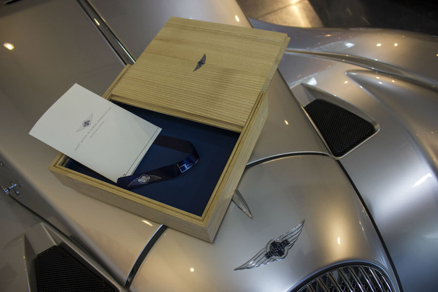 Morgan Cars Presentation box by Howard Butler