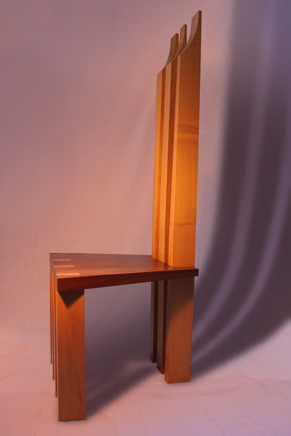 Seven Legged Chair by Howard Butler