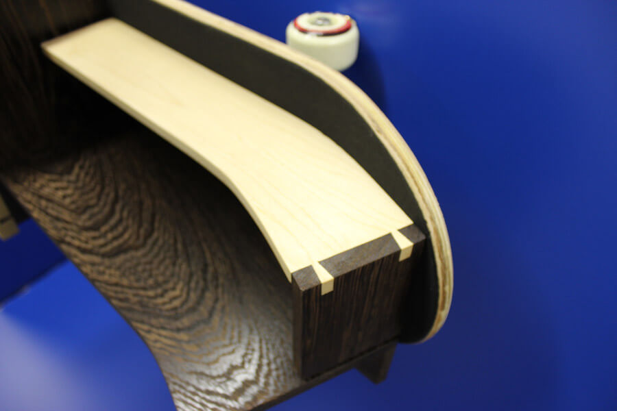 Skateboard Shelf by Howard Butler