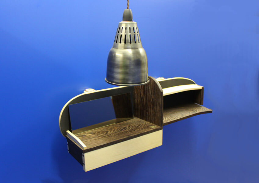 Skateboard Shelf by Howard Butler in Worcestershire