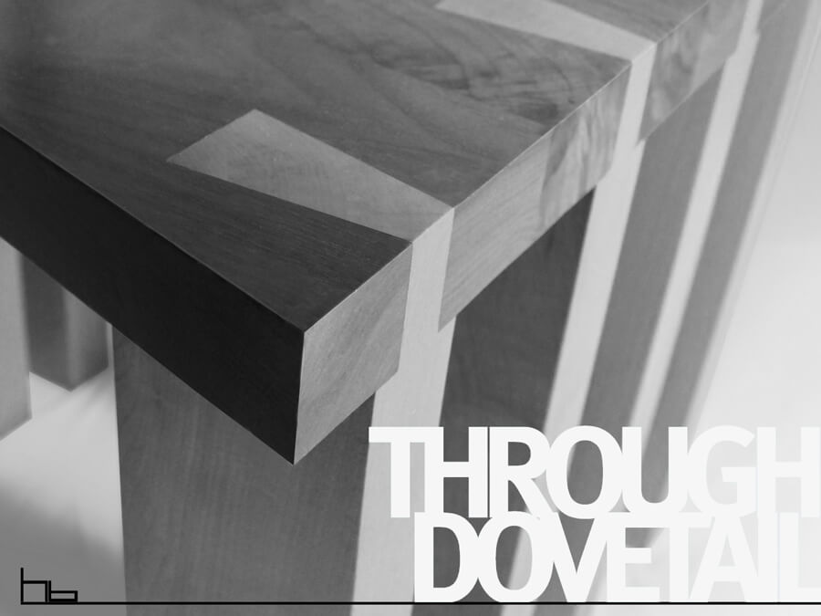 Through Dovetail Joint by Howard Butler