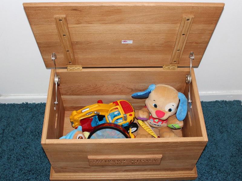 Custom Toy Box by Howard Butler