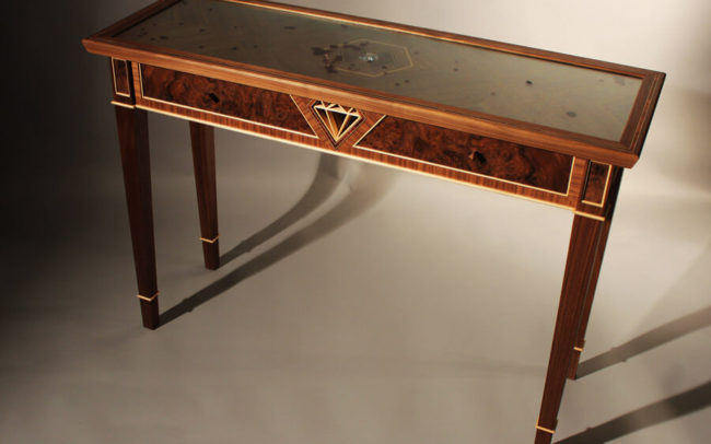 Howard Butler Bespoke Blood Diamond Table Draw