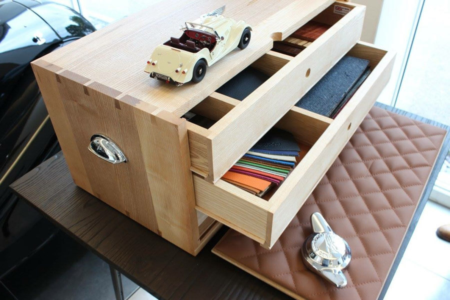 Morgan Cars Specification Boxes by Howard Butler