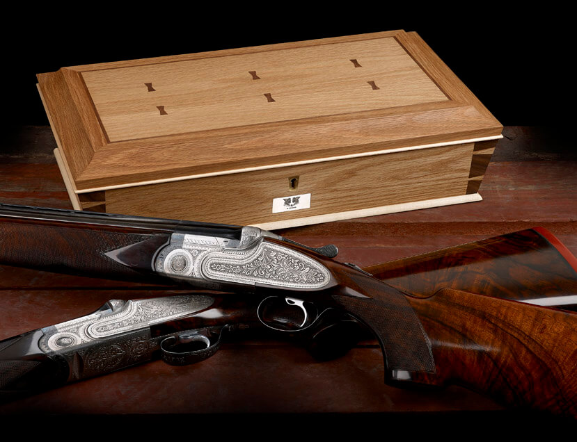 Bespoke Struthers Watch Box by Howard Butler