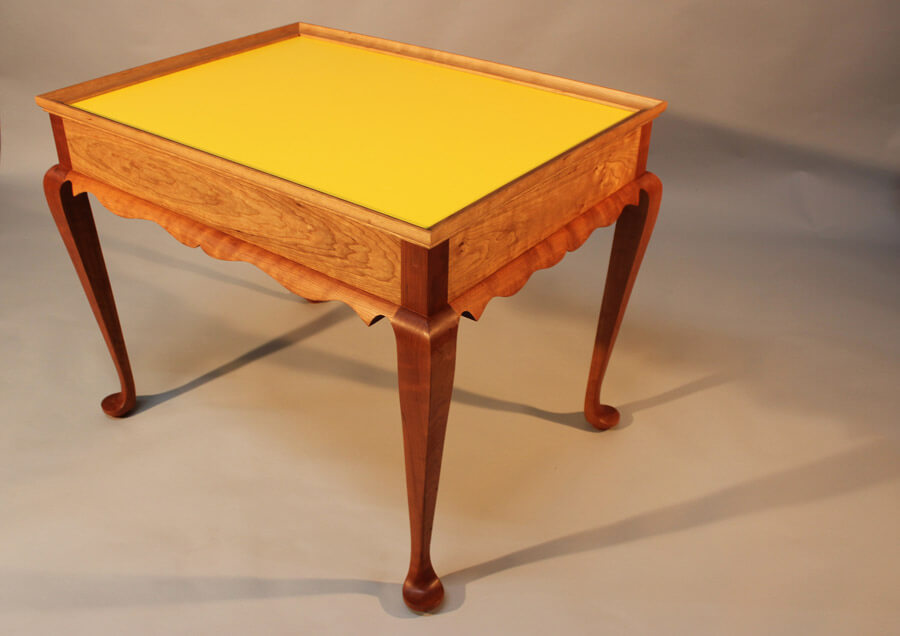 Bespoke Tea Table by Howard Butler
