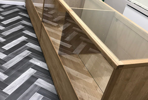 Jewelry Counter by Howard Butler bespoke Furniture