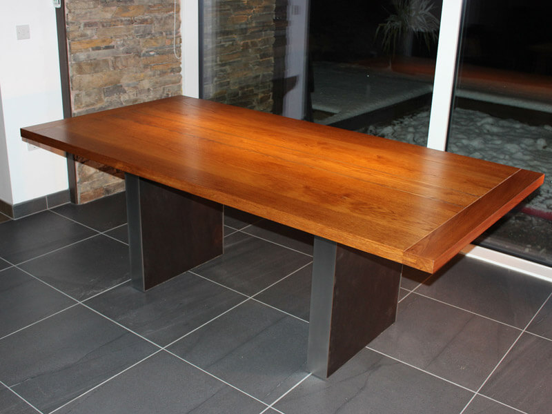 Slate Dining Table by Howard Butler bespoke Furniture