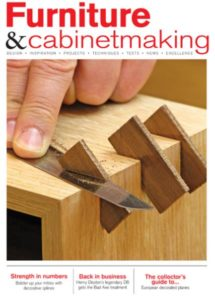 Furniture Cabinetmaking Cover