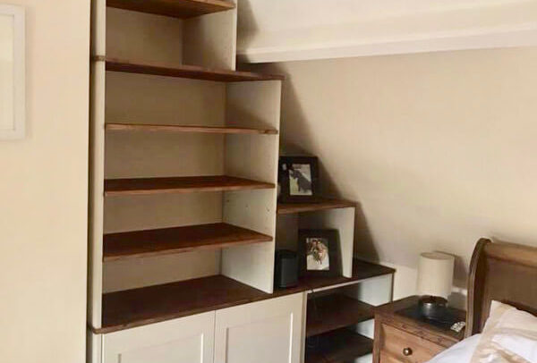 Fitted Alcove Bedroom unit by Howard Butler bespoke Furniture