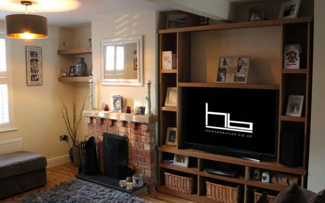 Lounge TV Storage Unit by Howard Butler bespoke Furniture