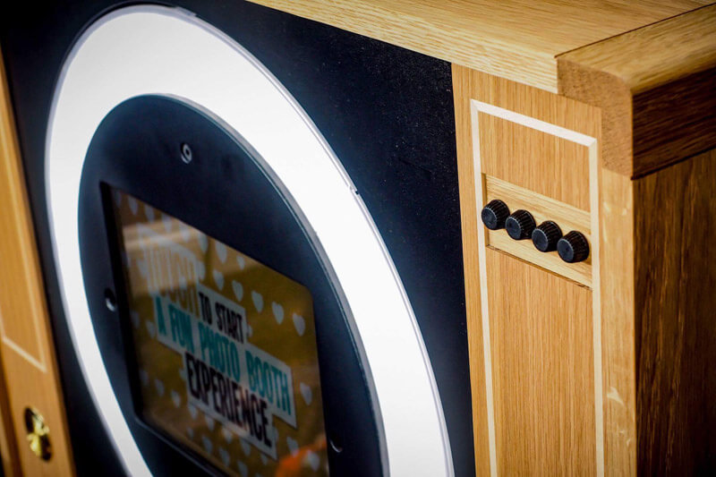 TV Photo Booth by Howard Butler bespoke Furniture