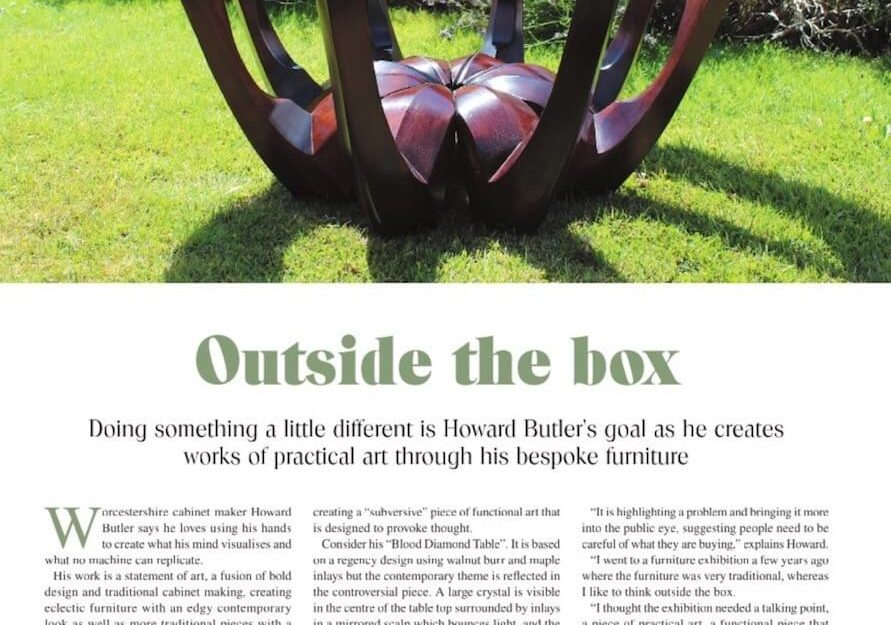 Howard Butler editiorial in Worcester Living