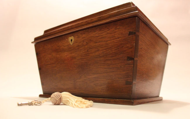 Antique Chest by Howard Butler