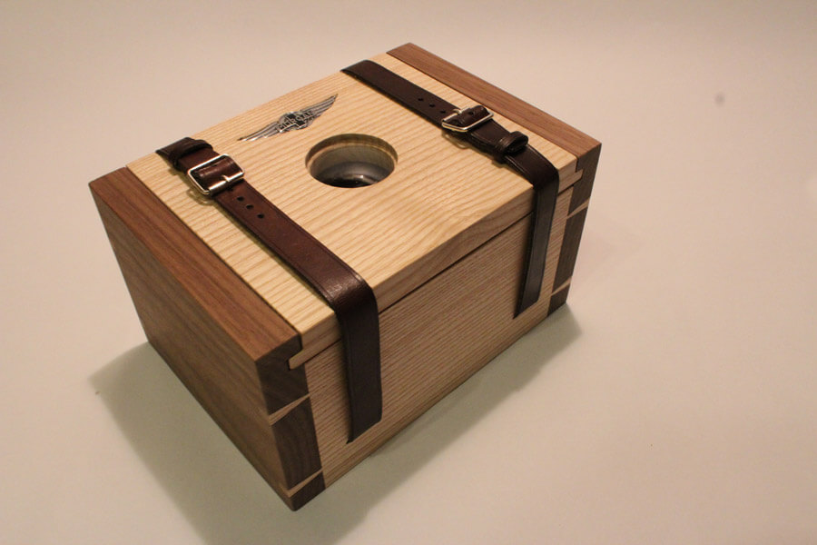 Struthers watch box design by Howard Butler