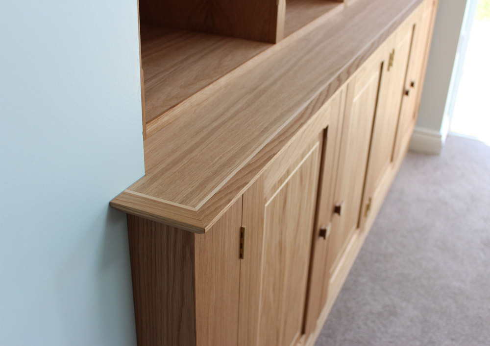 Oak Bookcase by Howard Butler