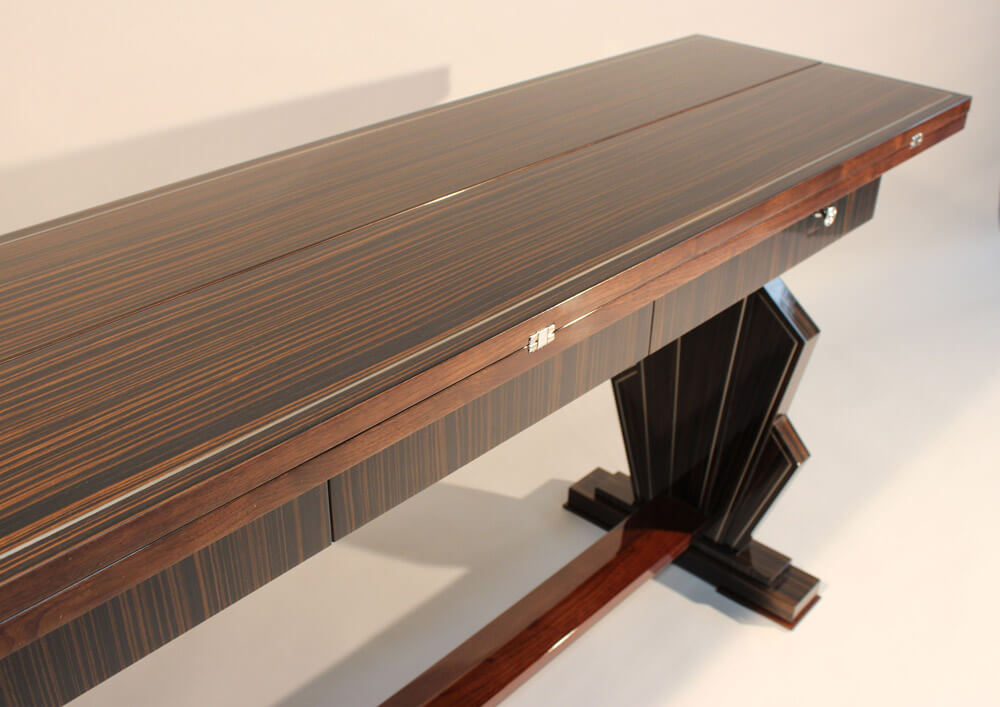Extendable Dining Table by Howard Butler