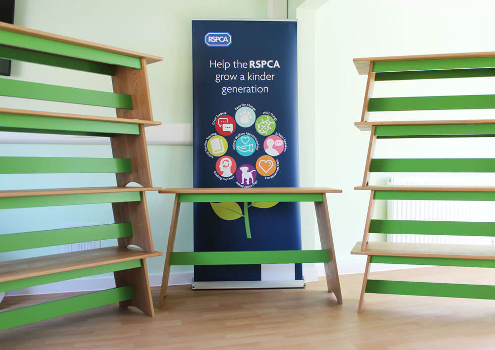 RSPCA Oak Benches by Howard Butler